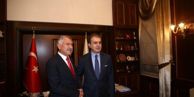 AKP'de bir ilk! Ömer Çelik, Zeydan Karalar'ı ziyaret etti