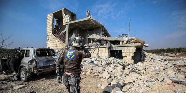 Rusya'dan İdlib'e hava saldırısı: 9 sivil hayatını kaybetti