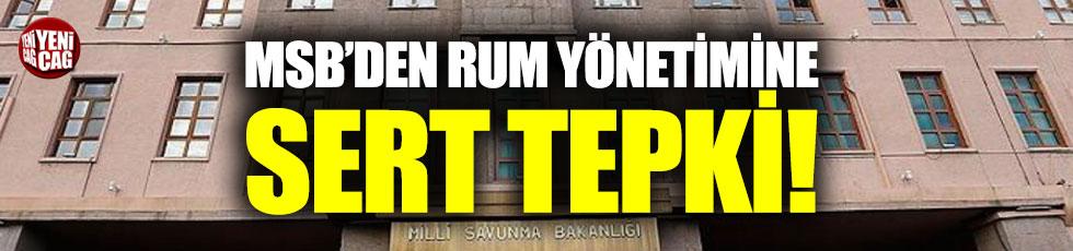 MSB'den Rum yönetimine sert tepki!