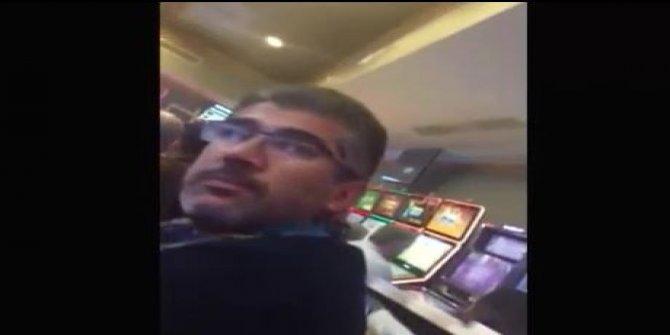 AKP'li isim kumar oynarken görüntülendi...