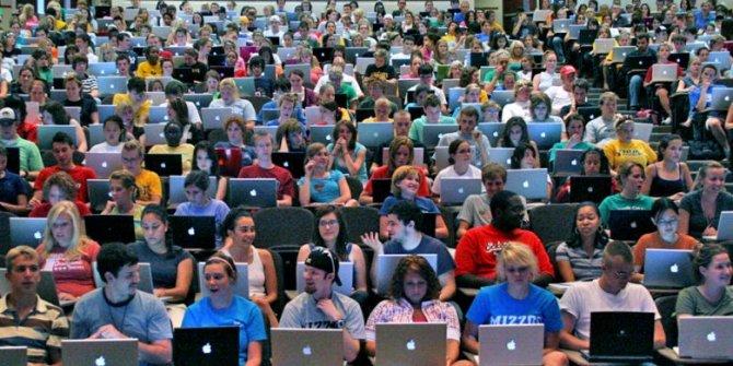Öğrenciler dikkat: Dizüstü bilgisayar...