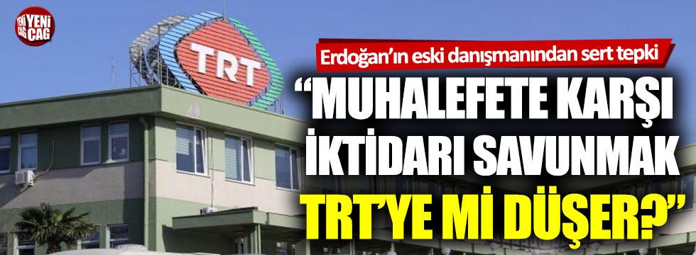 """Akif Beki: """"Muhalefete karşı iktidarı savunmak TRT'ye mi düşer?"""""""