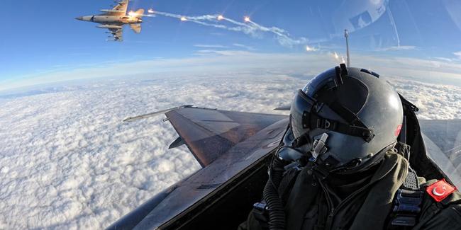 TSK'dan Hakurk'a hava harekâtı