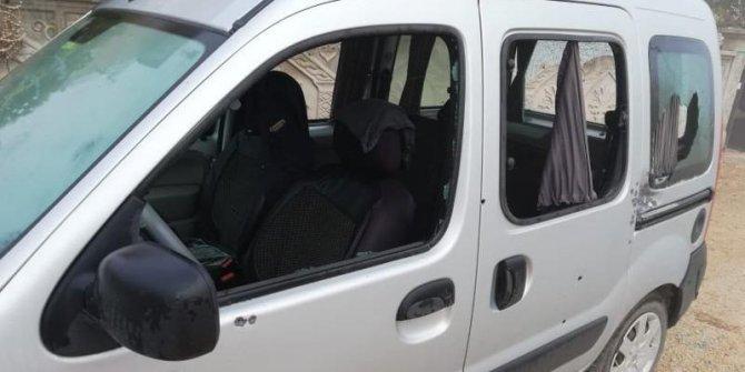 MHP'li başkanın aracı kurşunlandı