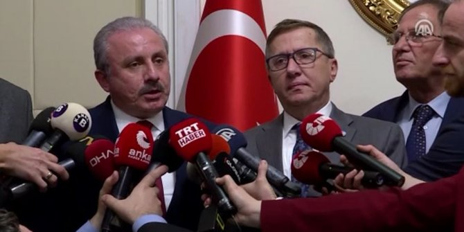 Mustafa Şentop, İYİ Parti'yi ziyaret etti