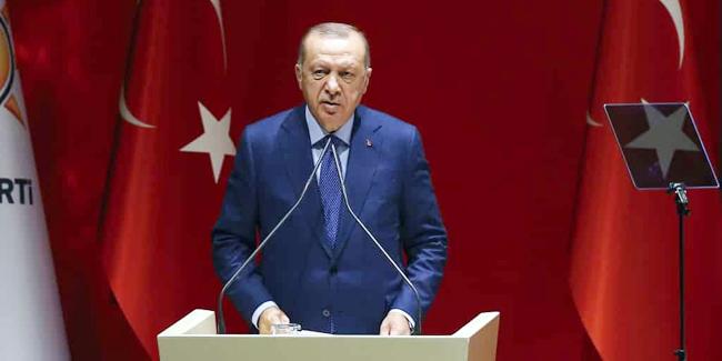 Erdoğan'dan AKP'den istifalara ilk yorum