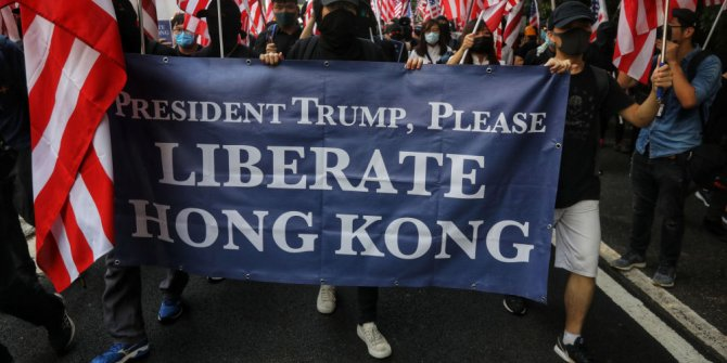 ABD Senatosundan 'Hong Kong'a destek' tasarısı