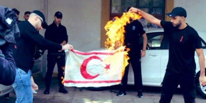 KKTC bayrağı yakılmıştı… Rum polisinden günler sonra açıklama geldi