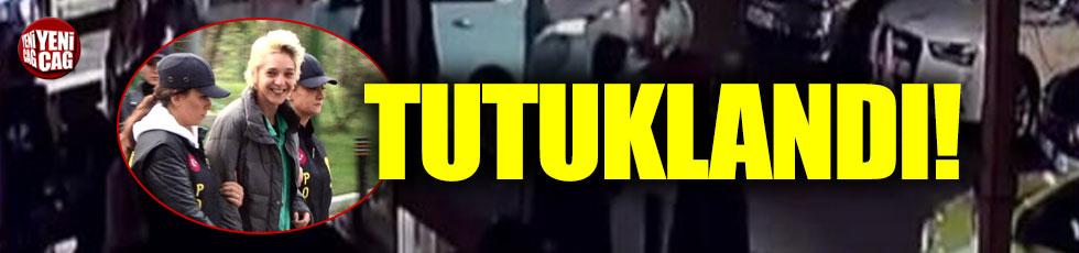 Beşiktaş'ta başörtülü öğretmene saldıran Berrak K. tutuklandı