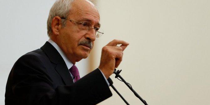CHP lideri Kılıçdaroğlu: Hesap vermeleri gerekiyor
