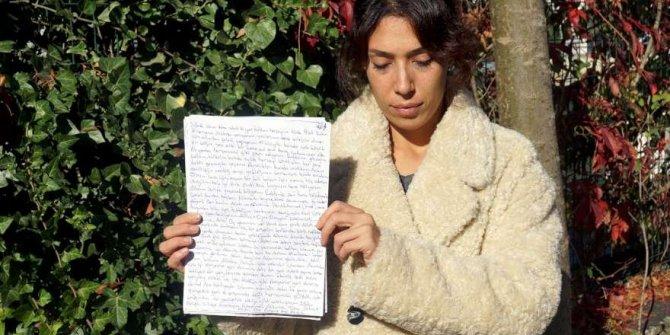 Boğazını kestiği eski eşine cezaevinden mektup yazmış!