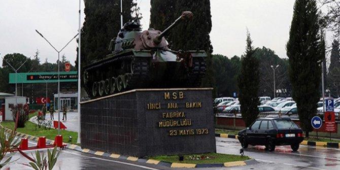 """""""Tank-Palet Fabrikası'nın denetimi MSB'de"""""""