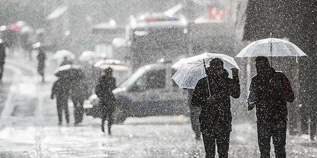 Son dakika: Kuvvetli sağanak yağış geliyor
