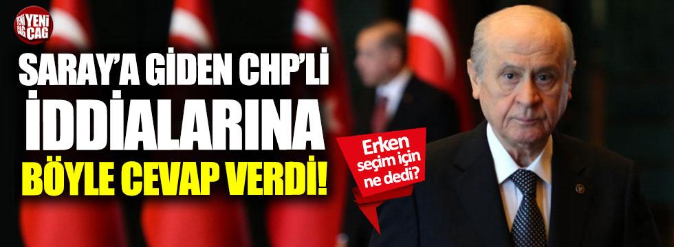 Devlet Bahçeli'den Saray'a giden CHP'li açıklaması