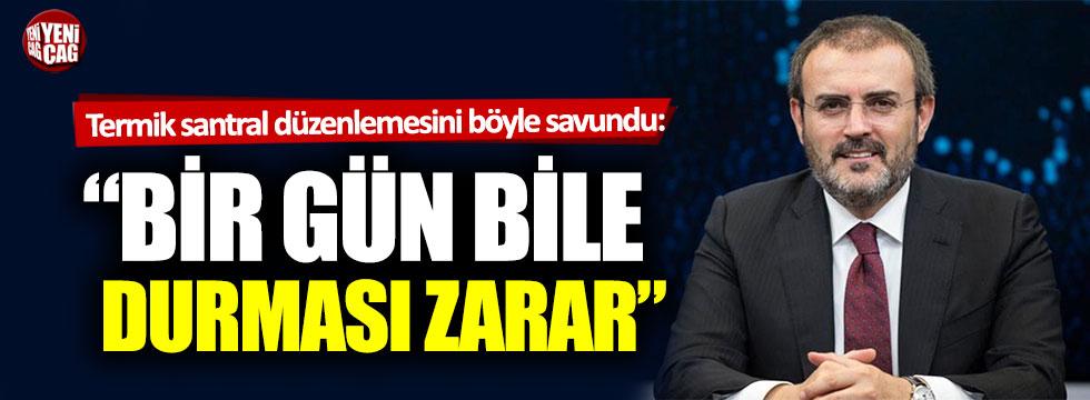 AKP'den termik santral açıklaması
