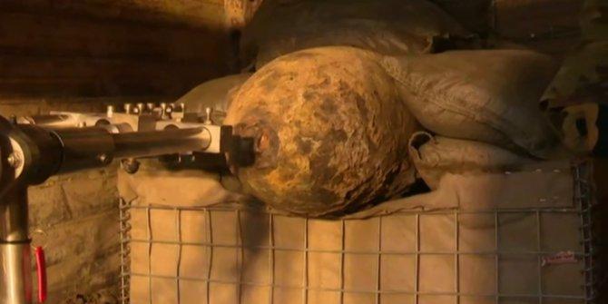 2. Dünya Savaşı'ndan kalma bomba bulundu