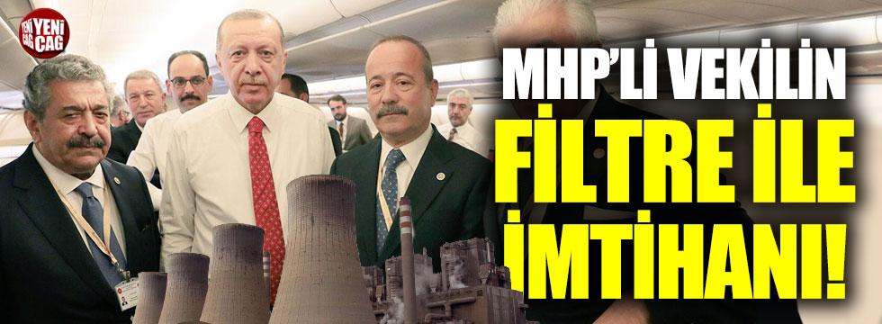 MHP'li Feti Yıldız'dan dikkat çeken filtre çıkışı