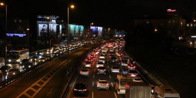 Trafik yoğunluğu yüzde 74'e ulaştı