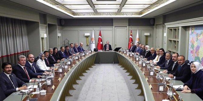 AKP'nin MYK toplantısı başladı