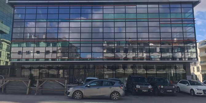 İşte Ahmet Davutoğlu'nun partisinin genel merkez binası