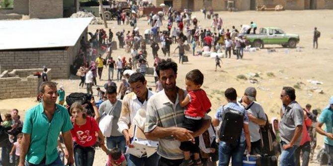 Bir haftada 25 bin Suriyeli sınıra dayandı!