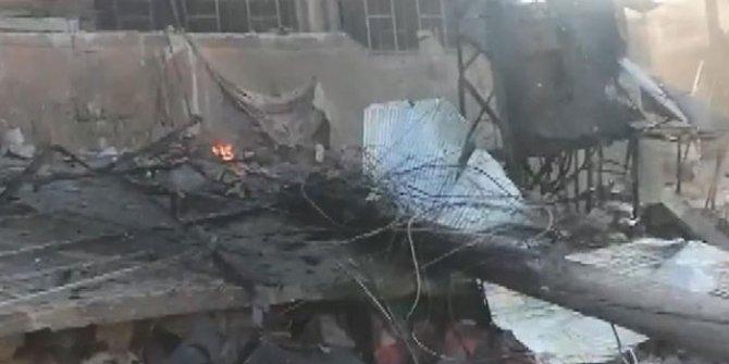 Esad güçlerinden İdlib'e hava saldırısı