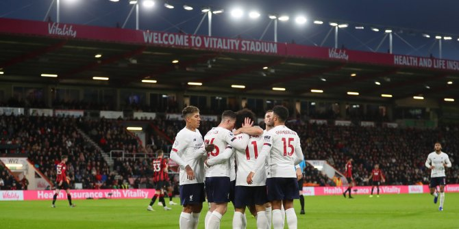 Liverpool tam gaz!