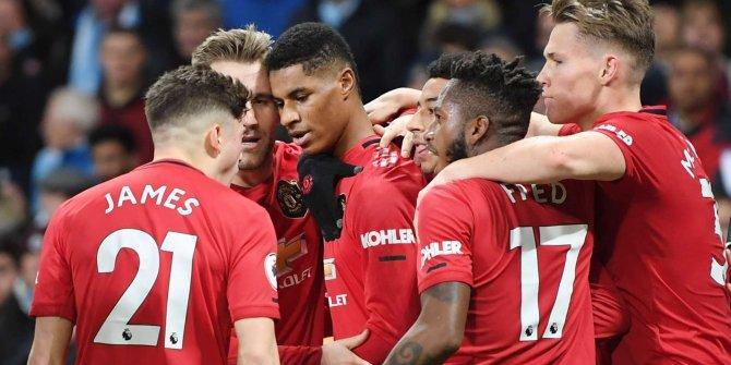 Manchester derbisi United'ın