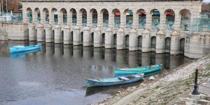Beyşehir Gölünde derinlik 6 metreye düştü