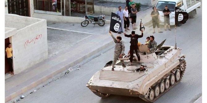 Rus askerleri ilk kez 'IŞİD'in başkentine' girdi