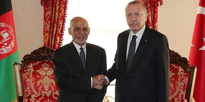 Erdoğan, Eşref Gani ile görüştü