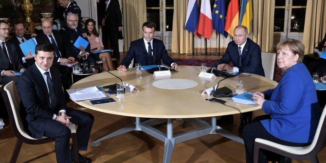 'Normandiya Dörtlüsü' zirvesi son erdi