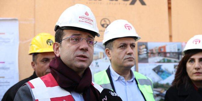 """Ekrem İmamoğlu: """"Dev bütçeli projeler beni ilgilendirmiyor"""""""