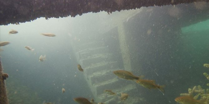 Rumkale'nin su altındaki eşsiz güzelliği!