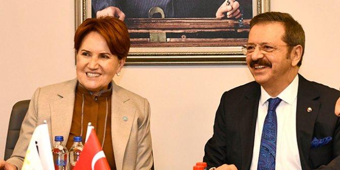 KİK üyelerinden Meral Akşener'e ziyaret