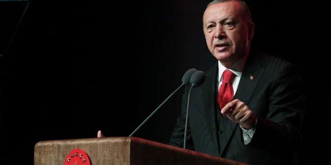 Erdoğan'dan nobel ödülü tepkisi