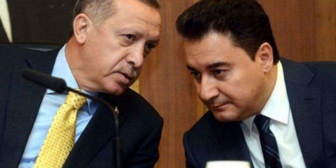 AKP'de Tayyip Erdoğan'a Ali Babacan tepkisi
