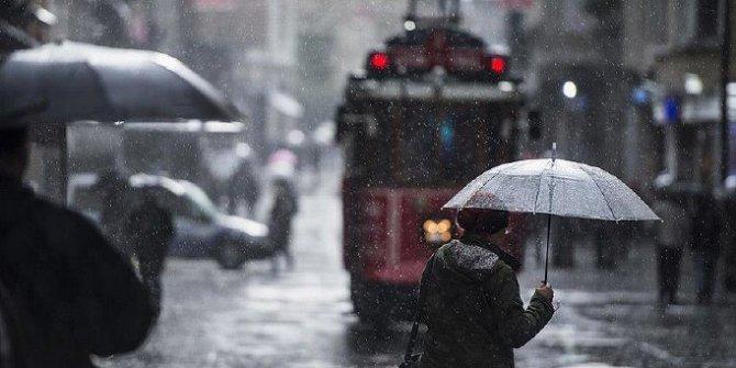 Marmara için yağmur ve sağanak uyarısı