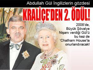 Abdullah Gül, İngiltere şövalye madalyası ile ilgili görsel sonucu