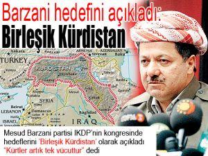 Barzani hedefini açıkladı: Birleşik Kürdistan