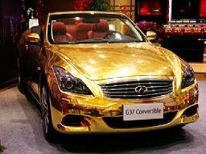 çinin Son çılgınlığı Som Altından Araba