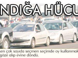 Yoğun trafik