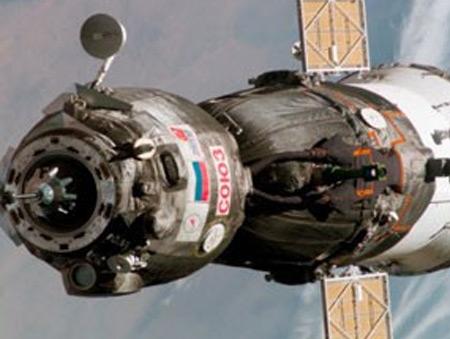 Soyuz üç astronot ile Dünya'ya döndü!