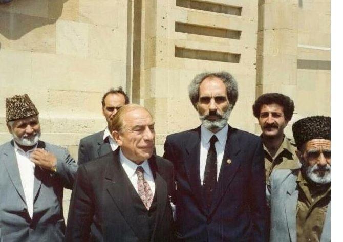 Atatürk'ün askeri Ebulfez Elçibey anılıyor