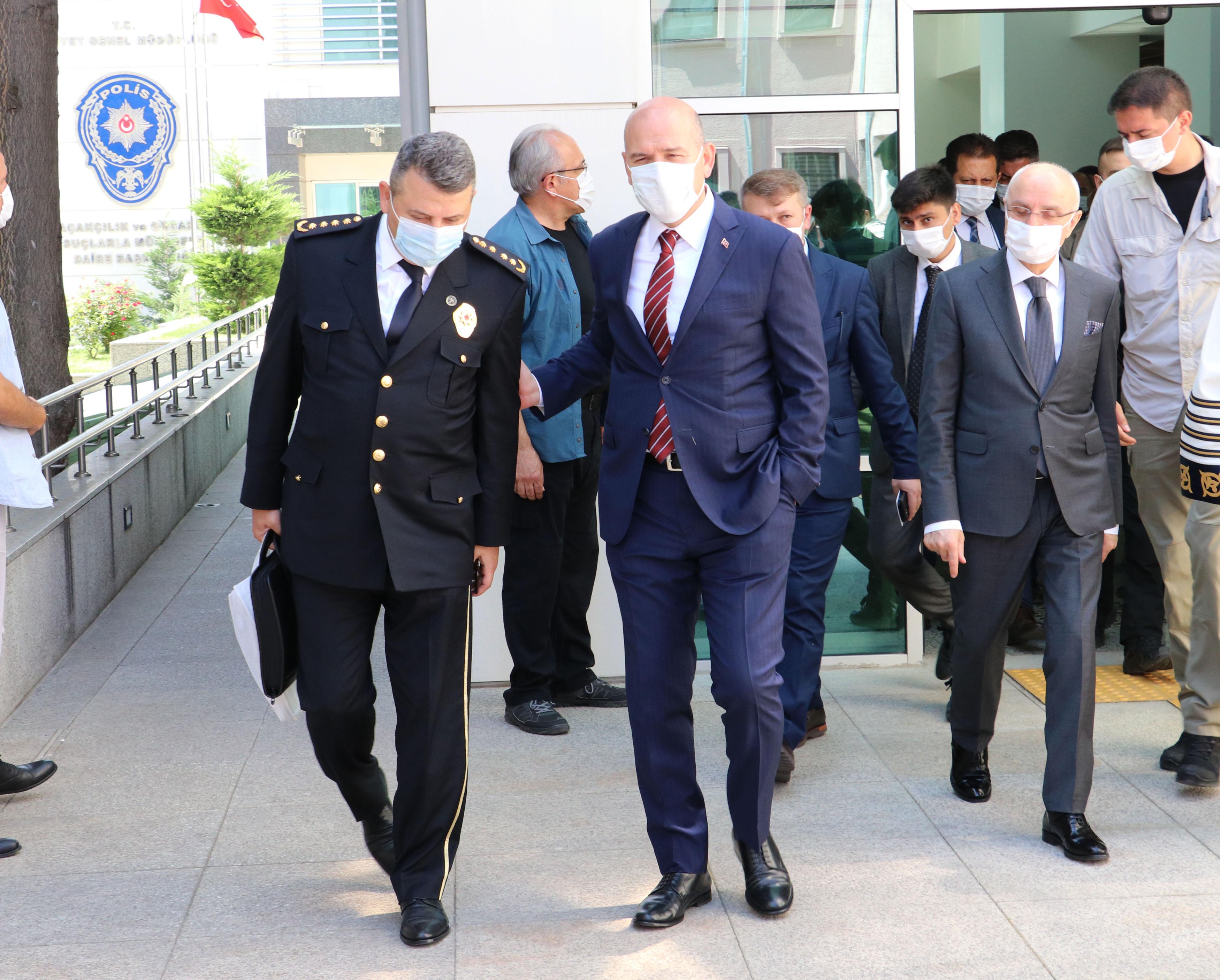 İçişleri Bakanı Süleyman Soylu: Örgütü çökertiyoruz