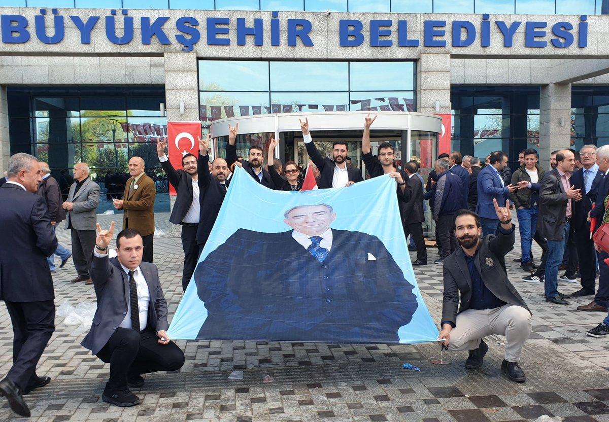 Ankara'da güne damga vuran kare!