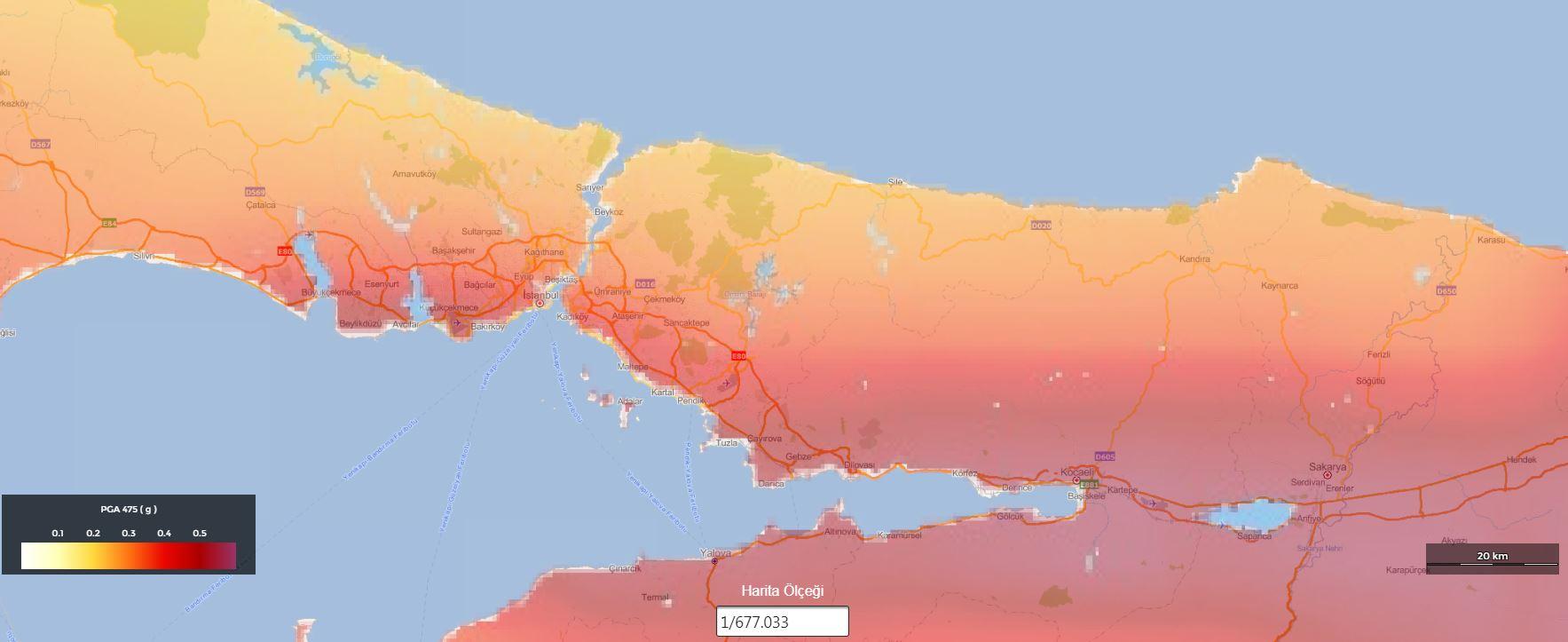 Istanbul Da Deprem Riski Yuksek Bolgeler Neresi