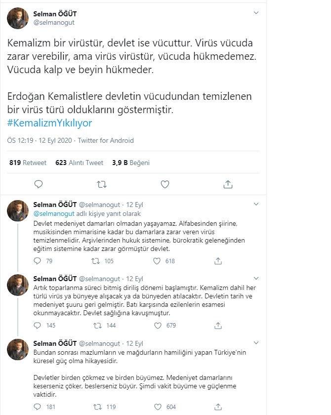 Atatürk karşıtı konuşmalarıyla bilinen Selman Öğüt'e tepki yağdı, sosyal medya ayağa kalktı